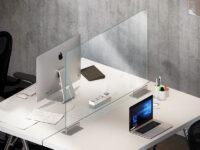 Barriere pareti divisorie uffici scrivanie