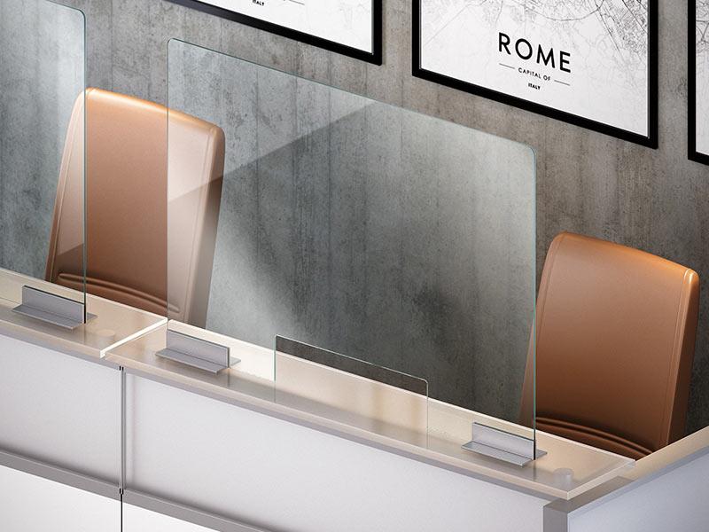 Barriere pareti divisorie in vetro uffici